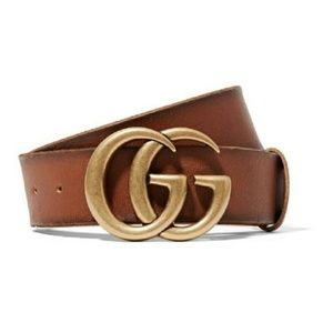 Alessandra Ambrosio Style Gucci Leather Belt